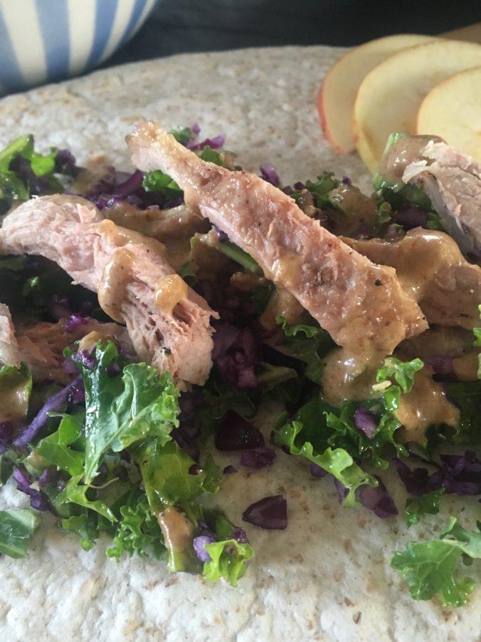 Tacos med and a la jul
